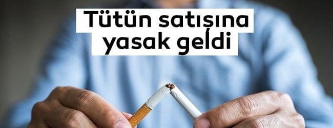Tütün Ürünleri Satmak Yasak mı